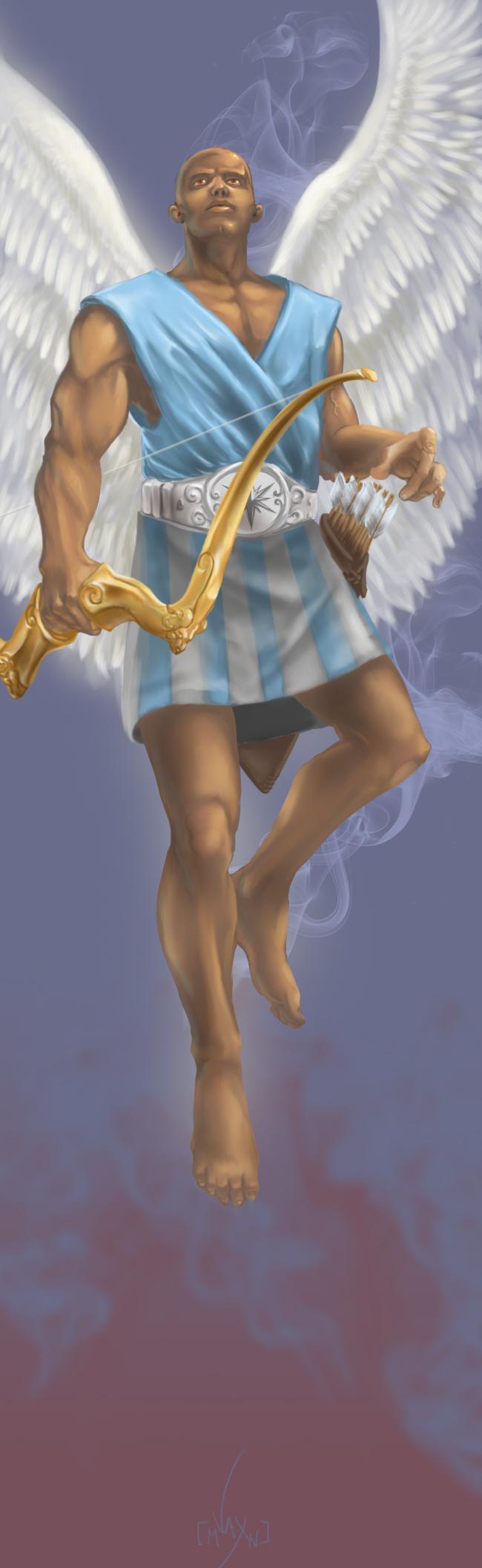 L'ange Eudialyte. Crédit de l'illustration: Eric Vaxman