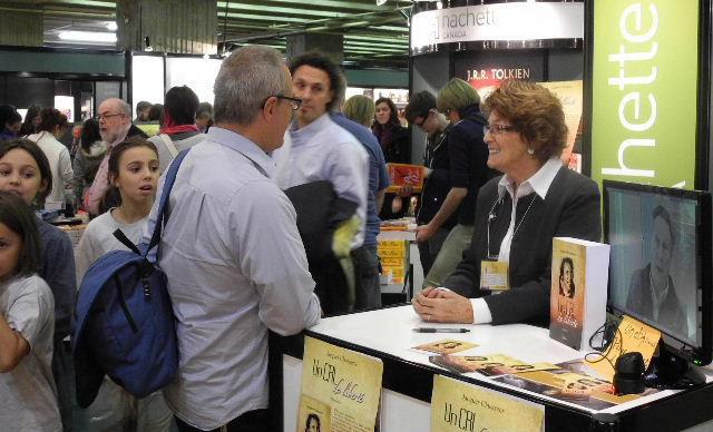 Nos auteurs participent régulièrement à des salons du livre.