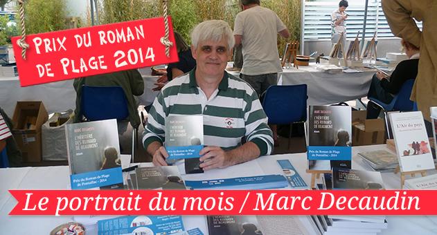 Marc Decaudin dédicace son livre