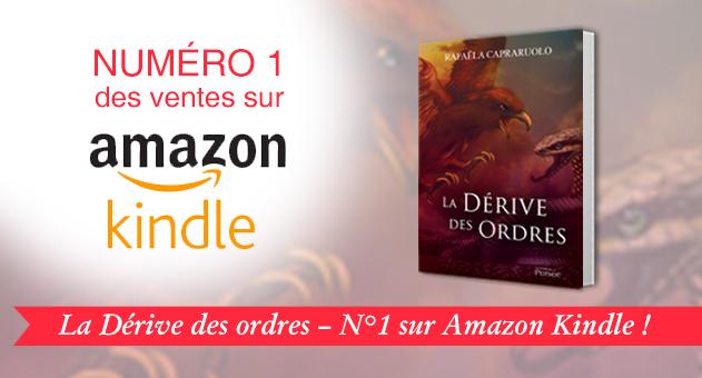 Éditions Persée numéro un des ventes sur Amazon Kindle